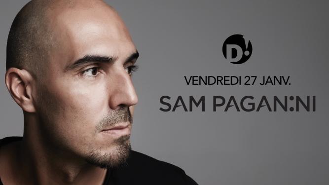 Sam Paganini + Zøe (Drumcode, IT) D! Club Lausanne Billets