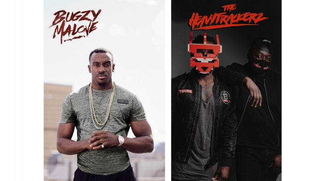 Bugzy Malone (UK) + The Heavytrackerz Les Docks Lausanne Biglietti