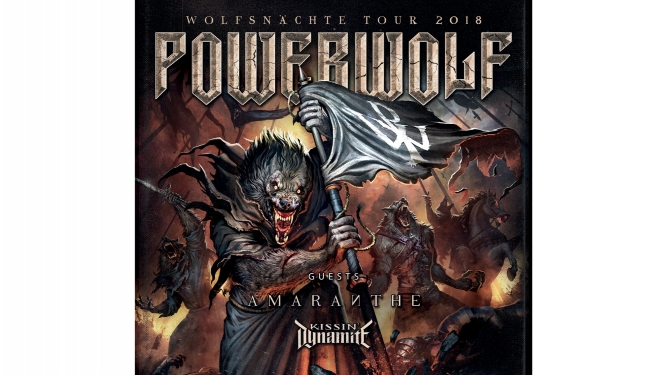 Powerwolf (DE) + Amaranthe (SE) Les Docks Lausanne Billets