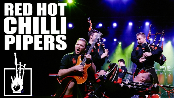 Red Hot Chilli Pipers Rhypark Basel Tickets