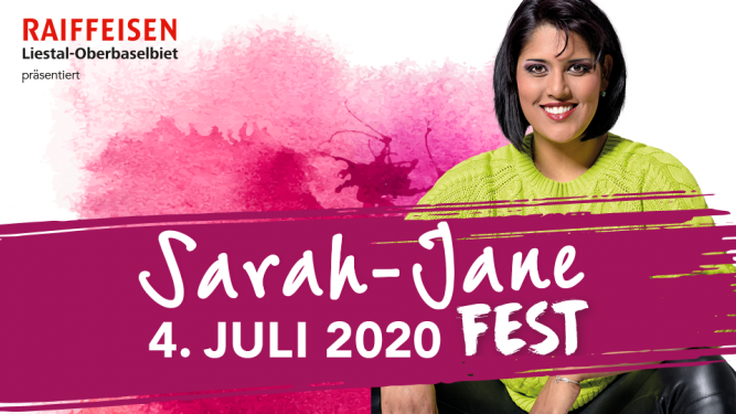Sarah-Jane Fest 2020 Reithalle Rothenfluh Billets
