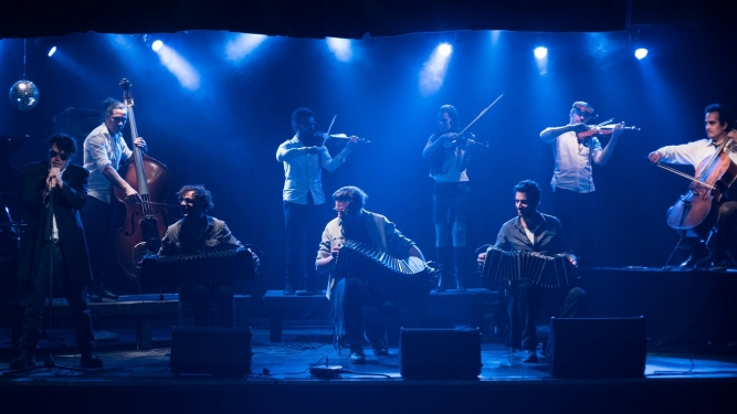 Peirani / Parisien & El Afronte Tango Ensemble Martinskirche Basel Tickets