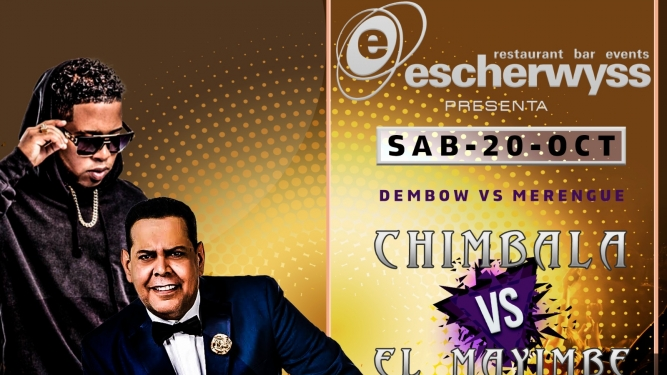 Dembow vs Merengue Escherwyss, Hardstr. 305 Zürich Tickets