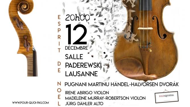 Esprit de Noël Salle Paderewski Lausanne Biglietti