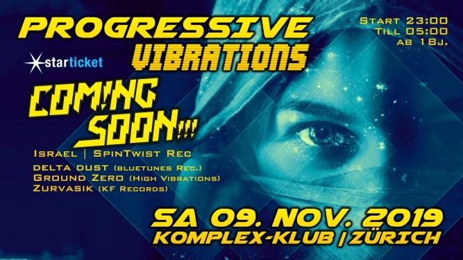 Progressive Vibrations Komplex Klub Zürich Tickets