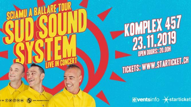 Sud Sound System Komplex Klub Zürich Tickets