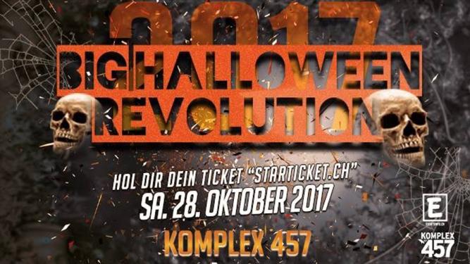 Big Halloween Revolution Komplex 457 Zürich Tickets