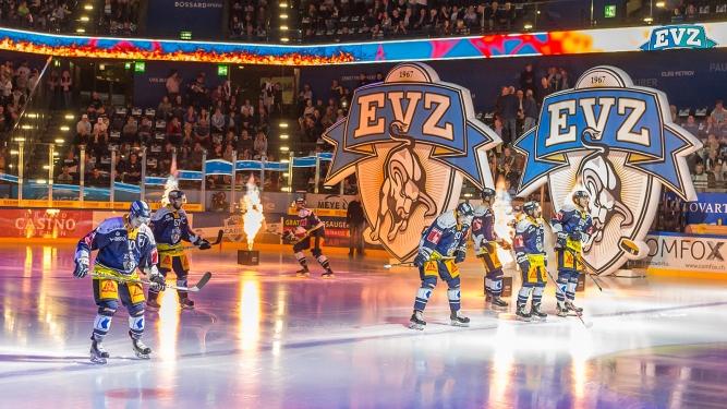 EV Zug BOSSARD Arena Zug Biglietti
