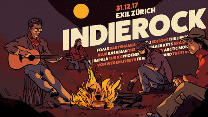 Indie Rock - Silvester EXIL Zürich Tickets