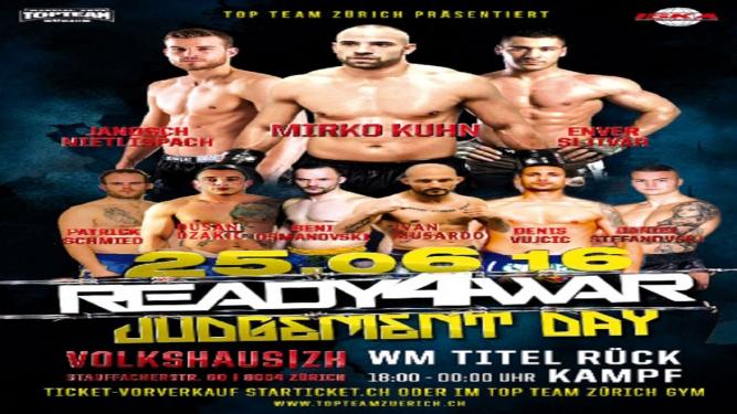 Ready 4 war 6 Volkshaus Zürich Tickets