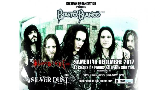 Beasto Blanco Salle Ton sur Ton La Chaux-de-Fonds Billets