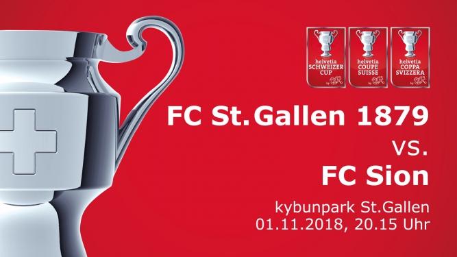 FC St.Gallen 1879 - FC Sion kybunpark St.Gallen Tickets