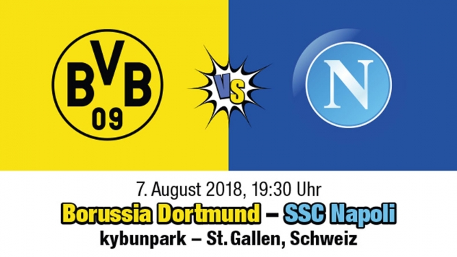 Borussia Dortmund - SSC Napoli kybunpark St.Gallen Biglietti