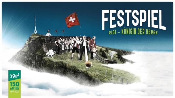 Festspiel - Rigi - Königin der Berge Festgelände Schwingarena Rigi Staffel Rigi Billets
