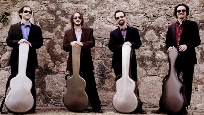 Quarteto de Guitarras Parnaso Salle Centrale de la Madeleine Genève Billets