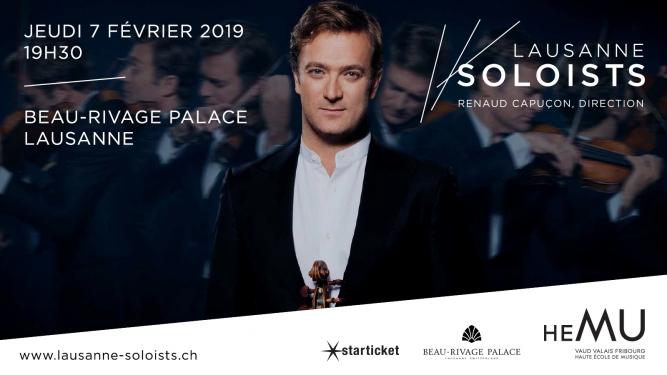 Lausanne Soloists Beau-Rivage Palace, Salle Sandoz Lausanne-Ouchy Billets