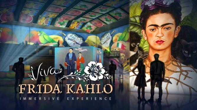Viva Frida Kahlo Lichthalle MAAG Zürich Biglietti