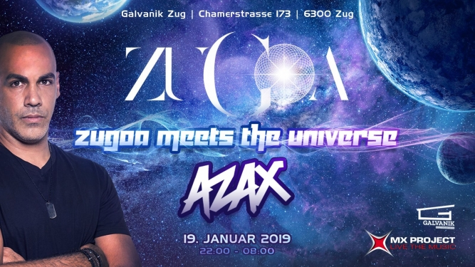 Zugoa Meets The Universe Kulturzentrum Galvanik Zug Tickets