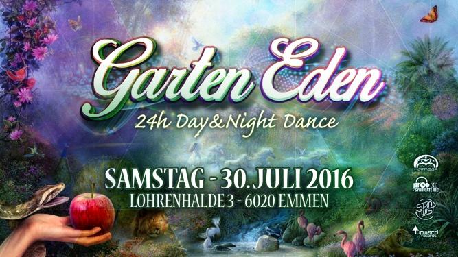 Garten Eden Day n Night Dance Lohrenhalde Emmen Tickets