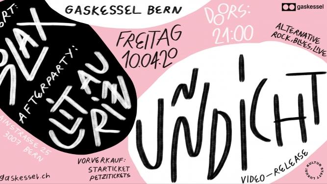 Uñdicht Gaskessel Bern Tickets