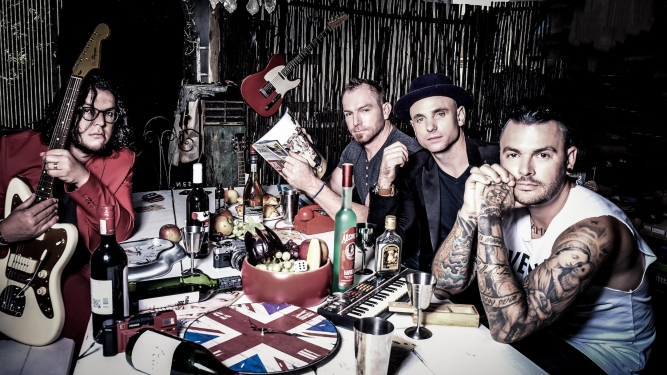 The Parlotones (ZA) Gare de Lion Wil (SG) Tickets