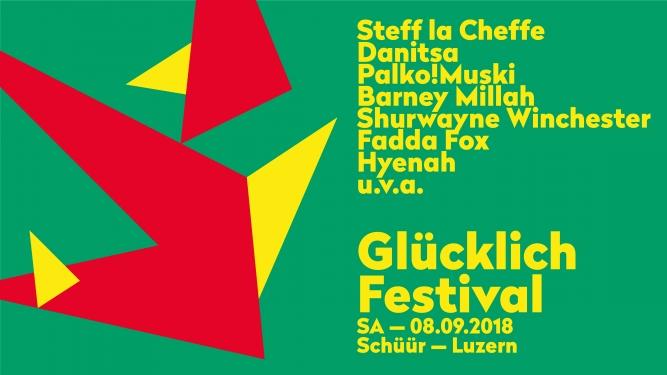 Glücklich Festival Konzerthaus Schüür Luzern Biglietti