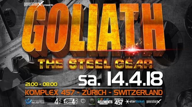 Goliath Komplex 457 Zürich Tickets