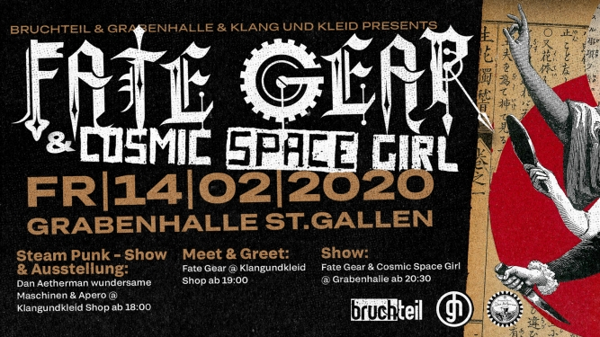 Fate Gear (JAP) Grabenhalle St.Gallen Tickets