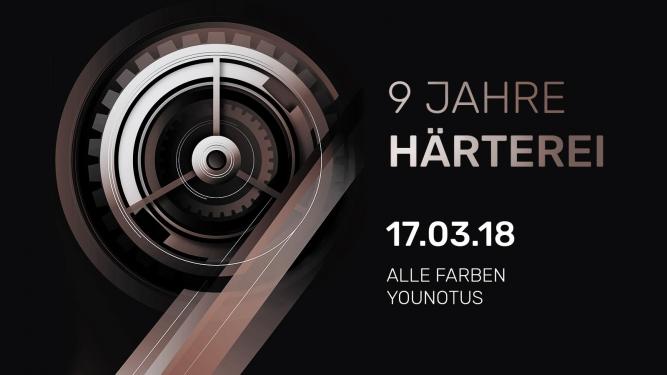 9 Jahre Härterei Härterei Club Zürich Tickets
