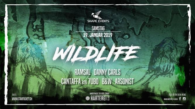 Wildlife x The Ice Age Härterei Club Zürich Tickets