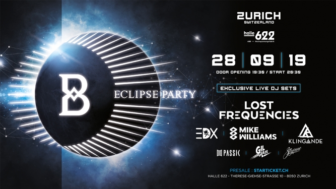 Eclipse Party Halle 622 Zürich Tickets