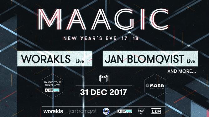 MAAGIC 'New Year's Eve 17x18' Härterei Club Zürich Tickets