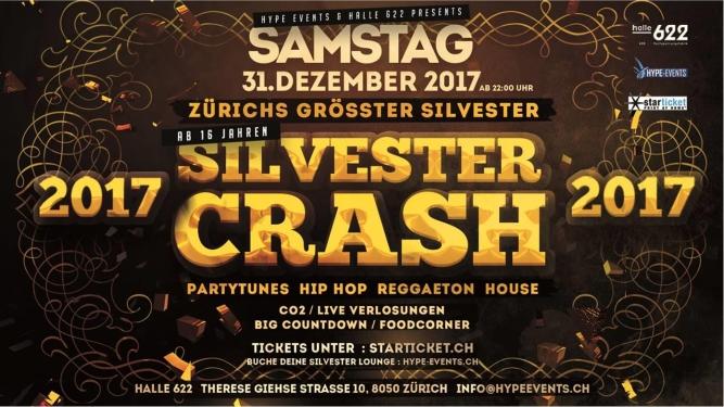 Silvester Crash Halle 622 Zürich Tickets