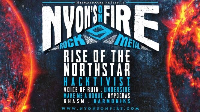 Nyon's on fire festival 9 Usine à Gaz Nyon Billets