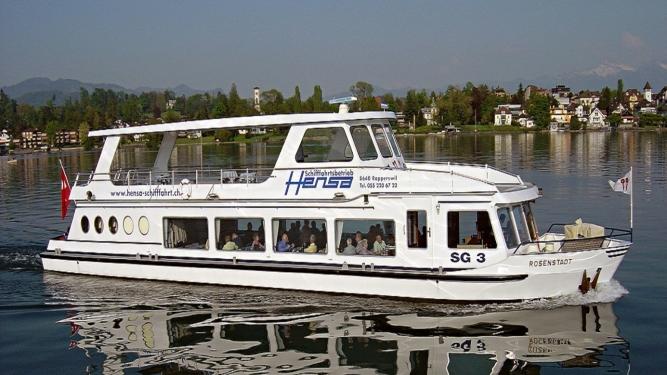 Ländler-Schiff Hensa-Hafen Rapperswil Tickets