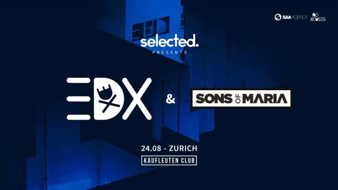 Selected w/ EDX Kaufleuten Klubsaal Zürich Tickets