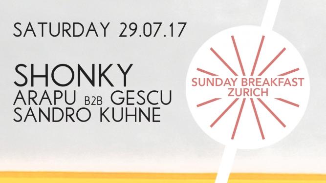Sunday Breakfast Summer Boat 2017 MS Helvetia, ZSG Bürkliplatz Zürich Tickets