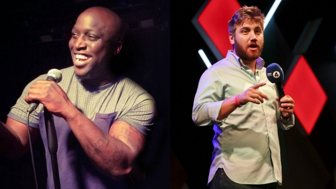 Funny Laundry with Emmanuel Sonubi + Morgan Rees The Green Room Zürich Tickets
