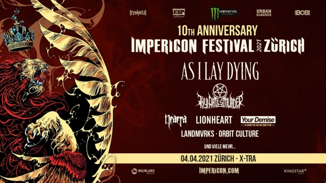 Impericon Festival 2021 X-TRA Zürich Tickets