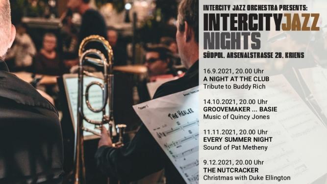 Intercity Jazz Orchestra Südpol Luzern Biglietti