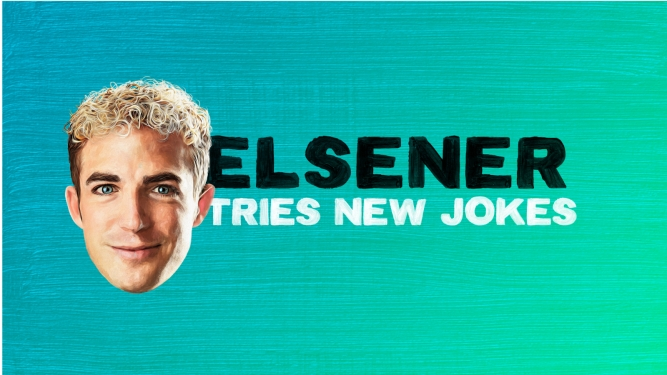 Elsener tries new jokes Several locations Several cities Tickets