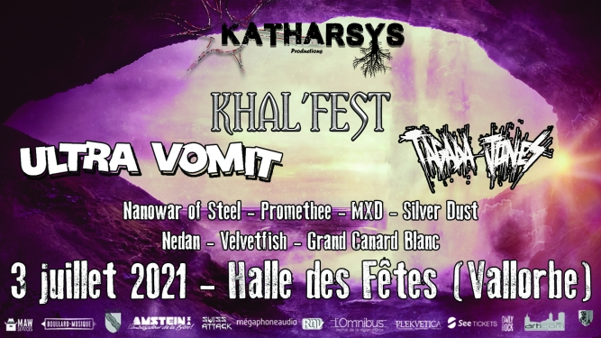 Khal'fest Halle des Fêtes Vallorbe Biglietti