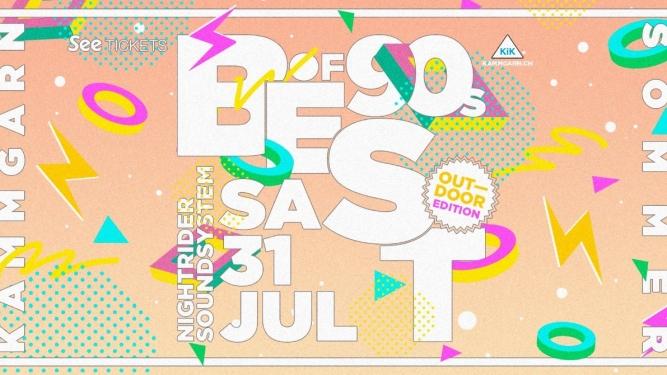Best of  90's Kammgarn Schaffhausen Tickets