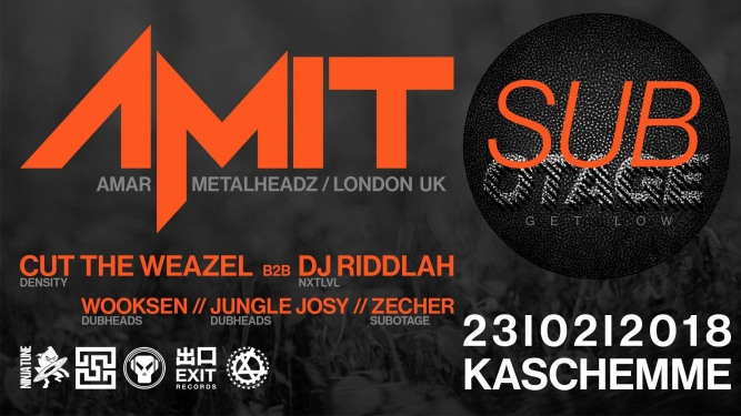 Amit (Amar, Metalheadz, UK) Kaschemme Basel Tickets