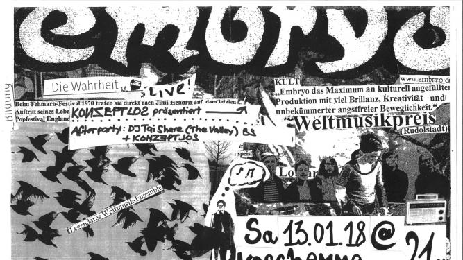 Embryo (D) Kaschemme Basel Tickets