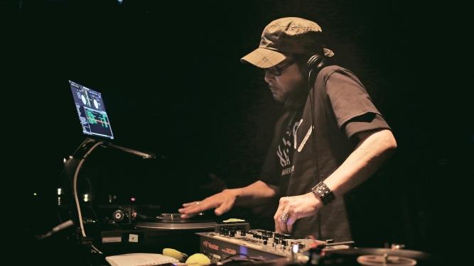 DJ Krush (JP) Rocking Chair Vevey Billets