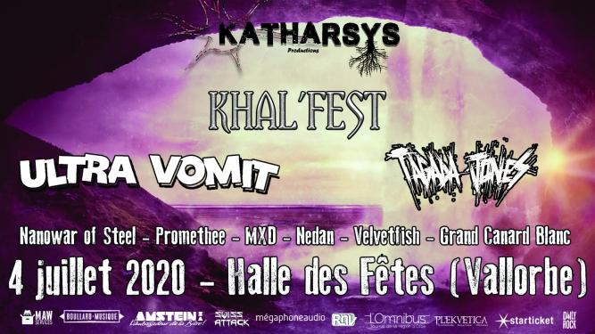 Khal'fest avec Ultra Vomit et Tagada Jones Halle des Fêtes Vallorbe Billets