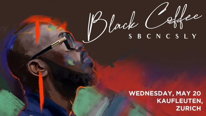 Black Coffee Kaufleuten Klubsaal Zürich Tickets
