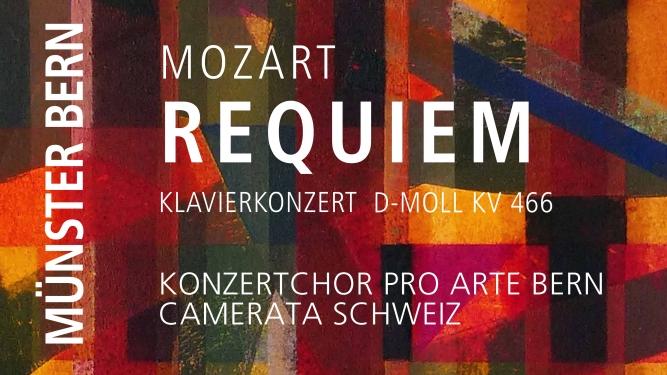 Requiem von W.A. Mozart Berner Münster Bern Tickets