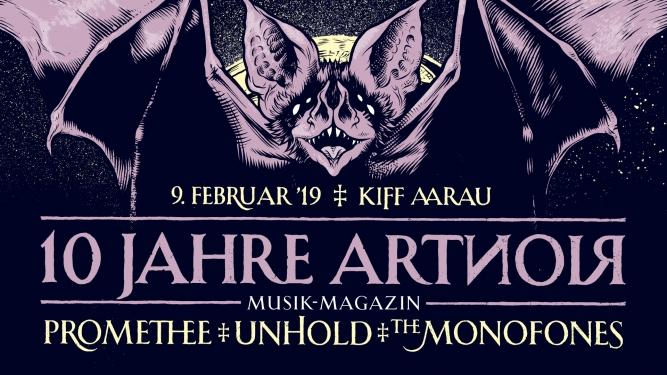 10 Jahre ArtNoir Kiff, Saal Aarau Tickets